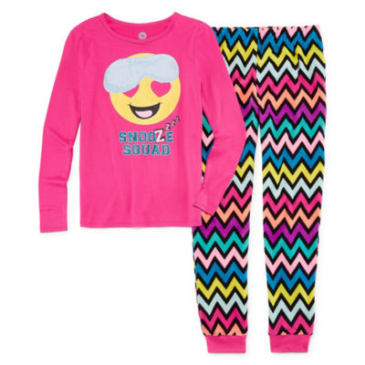 Total Girl 2-pc. Pant Pajama Set Girls