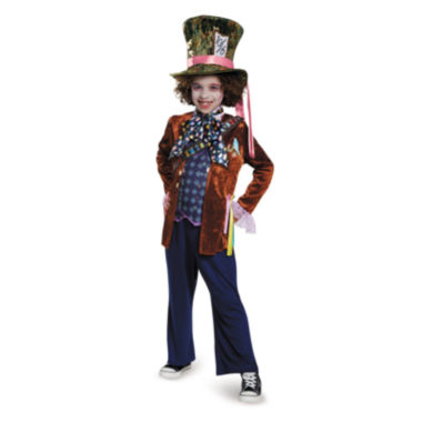 Alice Through the Looking Glass: Deluxe Mad HatterChild Costume