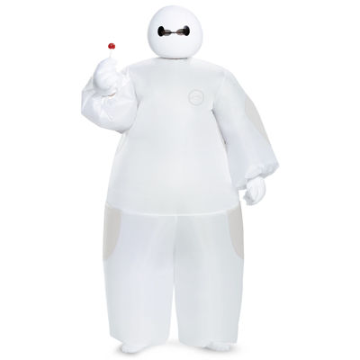 Big Hero 6: White Baymax Inflatable Costume For Children - Standard One-Size