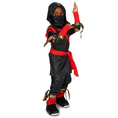 Black & Red Ninja Toddler Costume