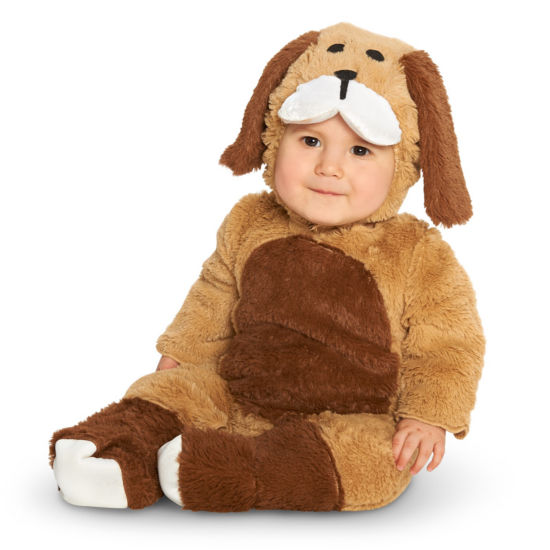 Brown Puppy Infant Costume
