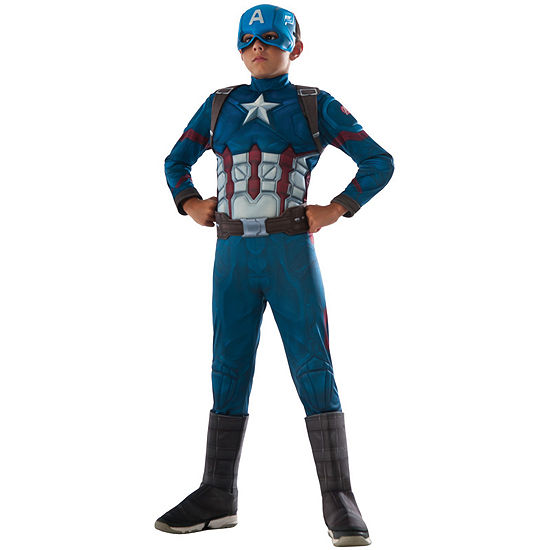 Captain America: Civil War Captain America DeluxeMuscle Chest Child Costume