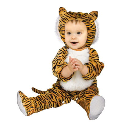 Cuddly Tiger Infant Costume - 12/24 Months