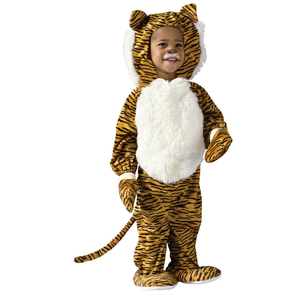 Cuddly Tiger Toddler Costume - 3T/4T
