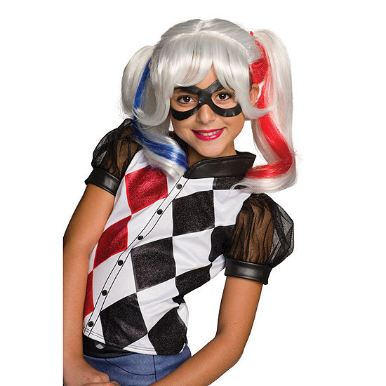 DC Superhero Girls: Harley Quinn Child Wig One-Size