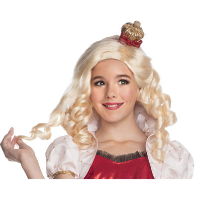 Ever After High - Apple White Wig with Headpiece Child Standard One-Size