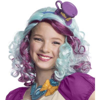 Ever After High - Madeline Hatter Wig with Headpiece Child Standard One-Size