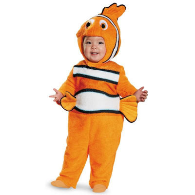Finding Dory Deluxe Nemo Toddler Costume 12-18 Months
