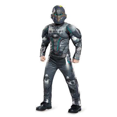 Halo Spartan Locke Classic Muscle Child Costume