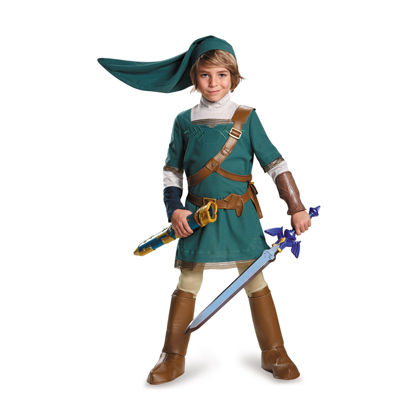 Legend of Zelda Link Prestige Child Costume