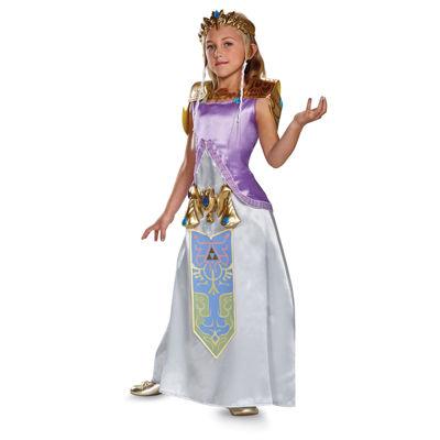 Legend of Zelda Princess Zelda Deluxe Child Costume