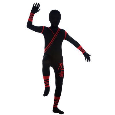 Ninja 2nd Skin Suit- Child Costume