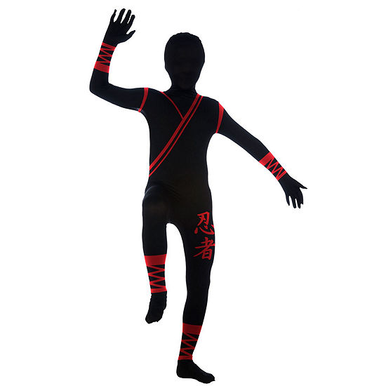 Ninja 2nd Skin Suit - Child Costume