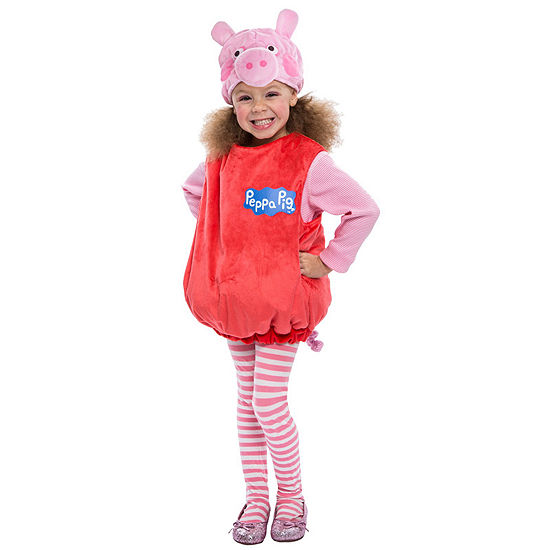 Peppa Pig Deluxe Toddler Girls Costume