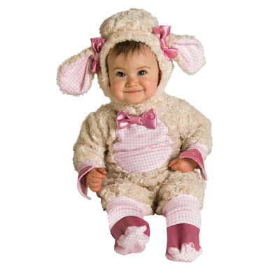 Pink Lamb Baby Infant Costume