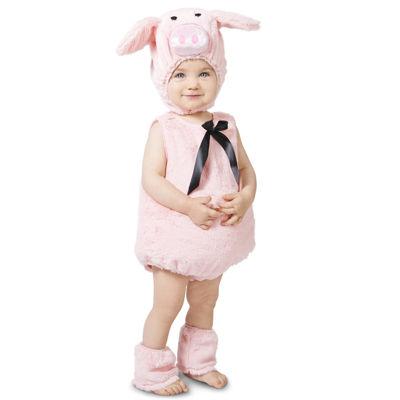 Pink Piglet Baby Infant Costume