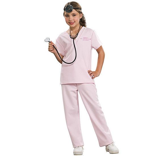 Pink Vet Child Costume Girls Costume