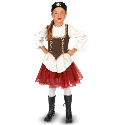 Pirate Tutu Girl Child Costume