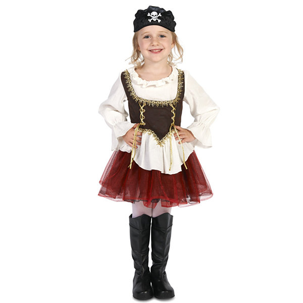 Pirate Tutu Girl Toddler Costume