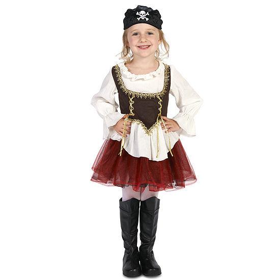 Pirate Tutu Girl Toddler Costume