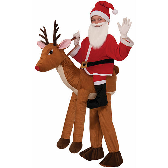 Ride a Reindeer Child Costume - One Size Fits Most