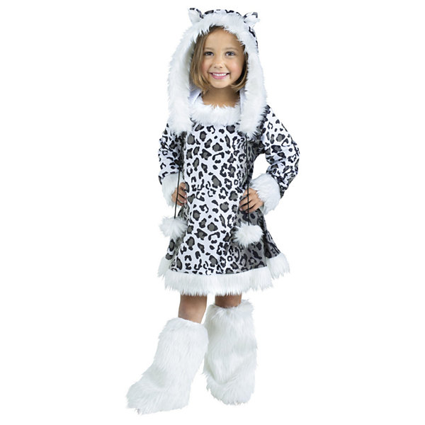 Snow Leopard Toddler Costume