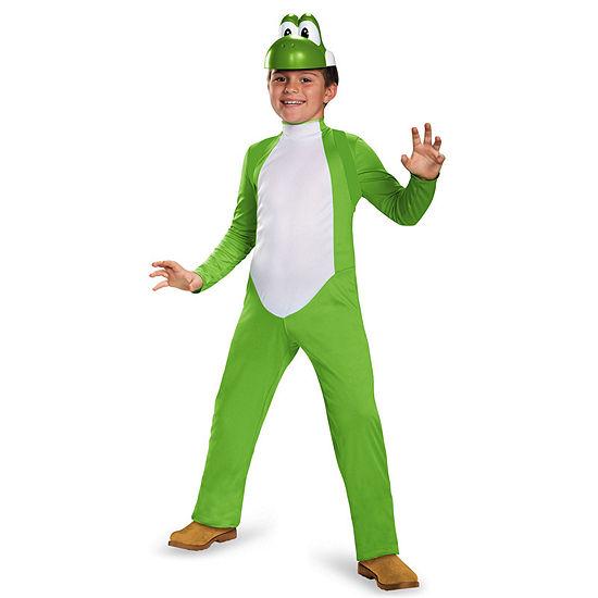 Super Mario Bros: Yoshi Deluxe Child Costume