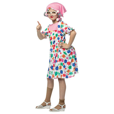 Granny Child Costume One-Size