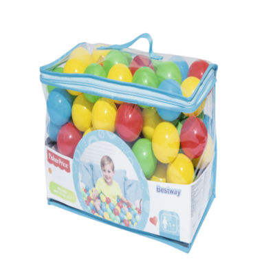 Bestway - Fisher-Price 2.5 Inch Play Balls, 100 Count