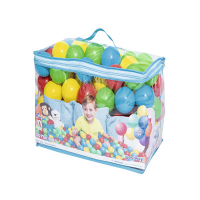 Bestway - Up, In and Over 2.5 Inch Splash and Play Balls, 100 Count