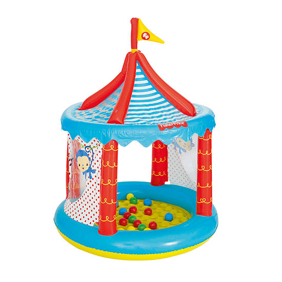 Bestway - Fisher-Price 41 Inches x 54 Inches Circus Ball Pit with 25 Balls