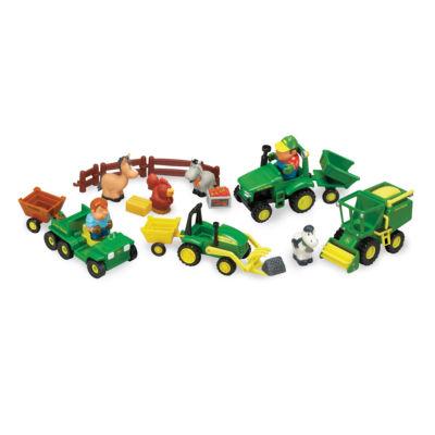 John Deere Fun on the Farm 20 Piece Playset