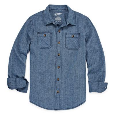 Arizona Long Sleeve Flannel- Boys 4-7