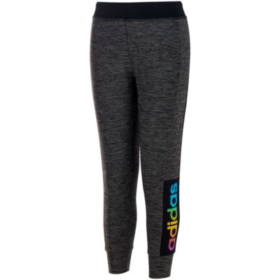 Adidas Logo Jersey Jogger Pants - Girls' 7-16