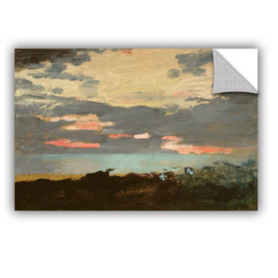 Brushstone Sunset; Saco Bay Removable Wall Decal