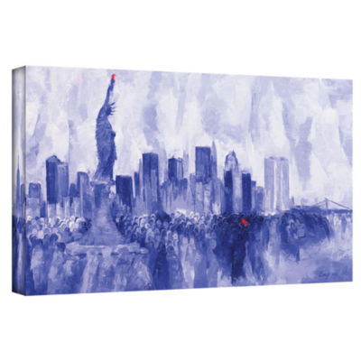 Brushstone NYC 2007 Gallery Wrapped Canvas Wall Art
