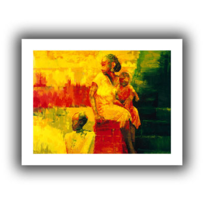 Brushstone What is it Ma? Canvas Wall Art