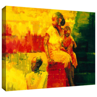 Brushstone What is it Ma? Gallery Wrapped Canvas Wall Art