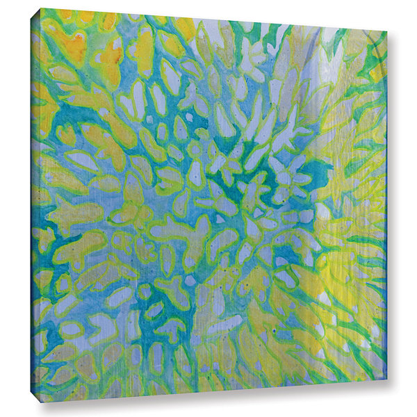 Brushstone Acrapora; 2000 Gallery Wrapped Canvas Wall Art