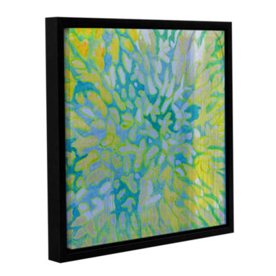 Brushstone Acrapora; 2000 Gallery Wrapped Floater-Framed Canvas Wall Art