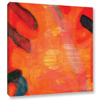 Brushstone Clown Fish II; 1997 Gallery Wrapped Canvas Wall Art