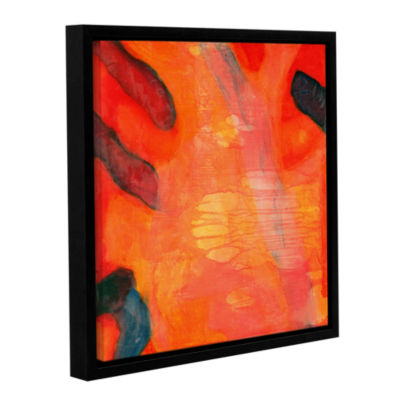Brushstone Clown Fish II; 1997 Gallery Wrapped Floater-Framed Canvas Wall Art