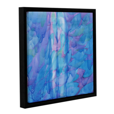 Brushstone Humpback's Blue; 2000 Gallery Wrapped Floater-Framed Canvas Wall Art