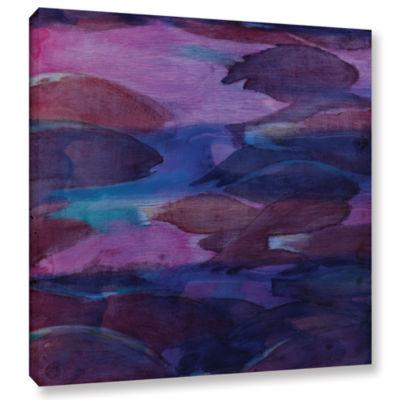 Brushstone Purple Parrots VI; 2000 Gallery WrappedCanvas Wall Art