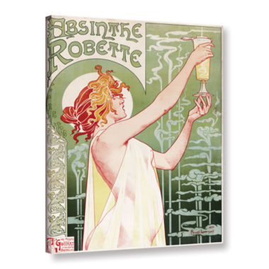 Brushstone Absinthe Robette Poster Gallery WrappedCanvas Wall Art