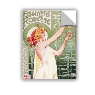 Brushstone Absinthe Robette Poster Removable WallDecal