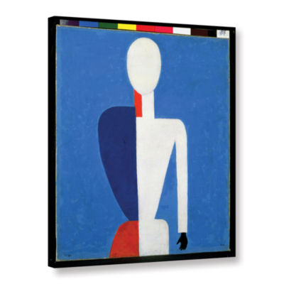 Brushstone Torso; Transformation to a New Shape;1928-32 Gallery Wrapped Canvas Wall Art