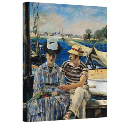 Brushstone Argenteuil Gallery Wrapped Canvas WallArt