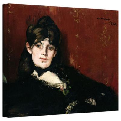 Brushstone Berthe Morisot Reclining Gallery Wrapped Canvas Wall Art