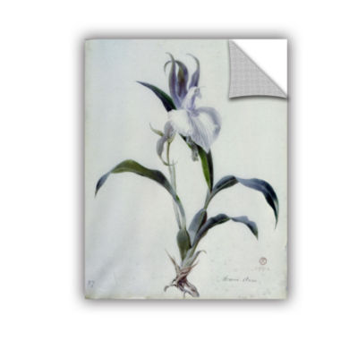 Brushstone Berthe Morisot with a Bouquet of Violets Removable Wall Decal